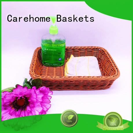 Carehome durable wicker laundry basket manufacturer for sale
