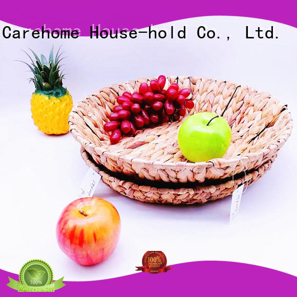 Carehome natural large wicker baskets for snacks for supermarket