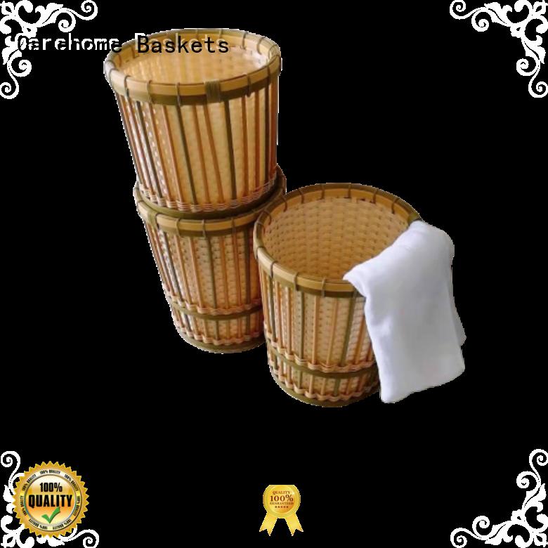 Carehome weaving towel basket wholesale for market