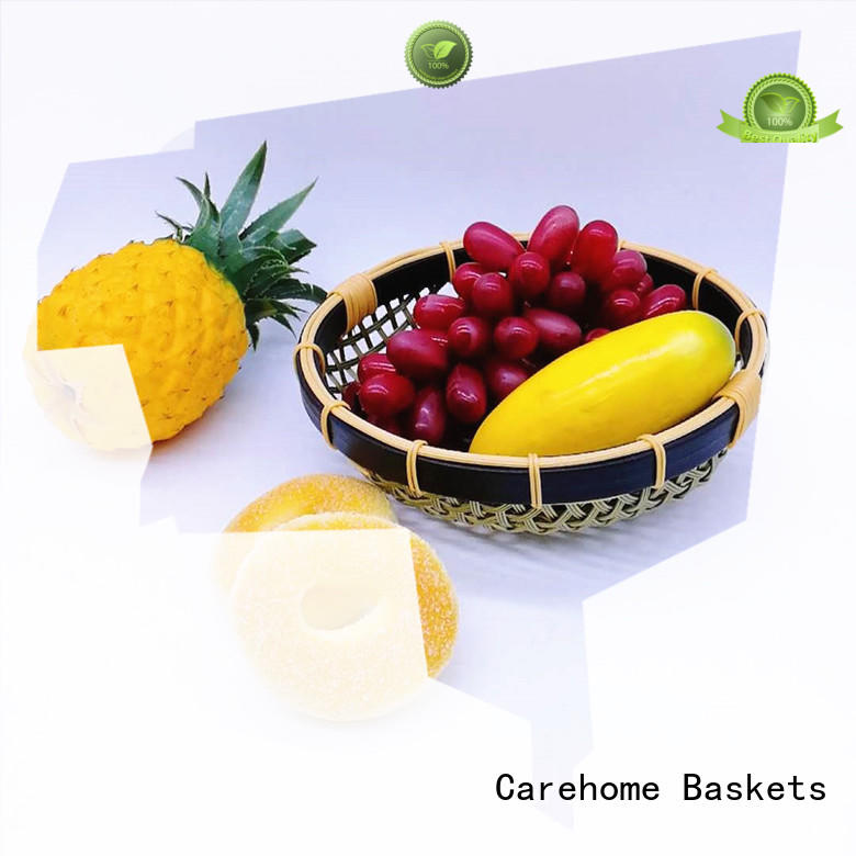 Carehome bread Bamboo Basket for shop