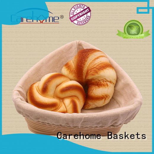 Carehome coated wooden bread basket supplier for sale