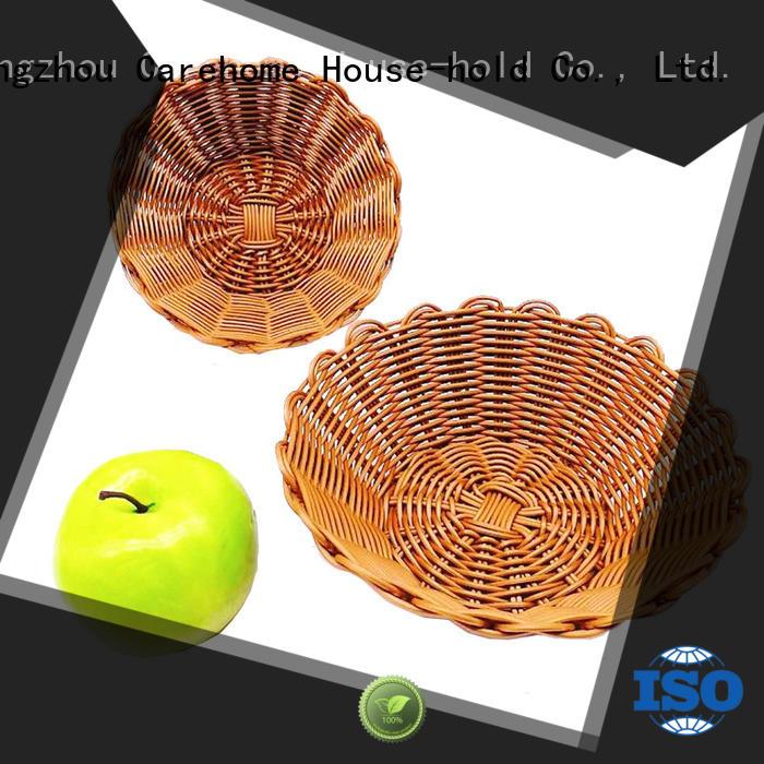 Carehome decorative wicker baskets kitchen manufacturer for sale
