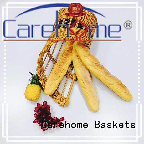 inch wicker bread basket supplier for supermarket Carehome