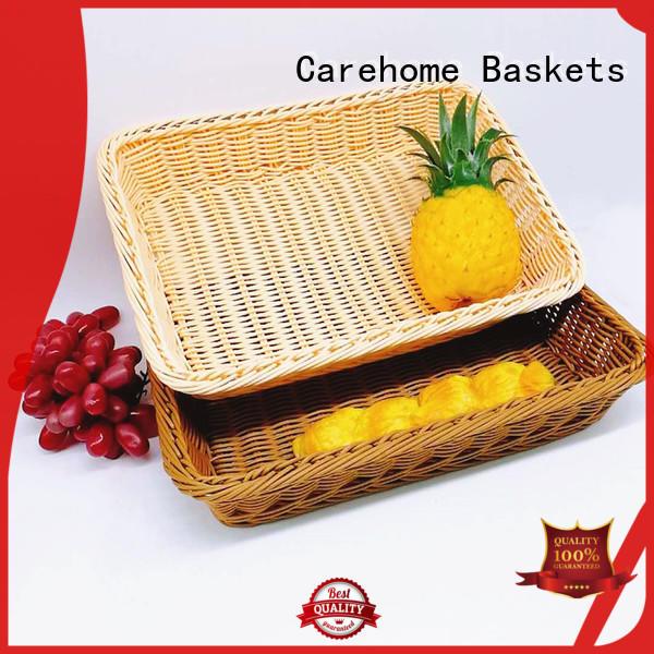 plastic bakers basket weaved wholesale for supermarket