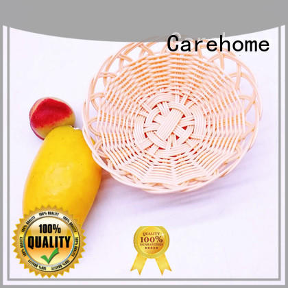 Carehome displaying rattan bread basket supplier for supermarket