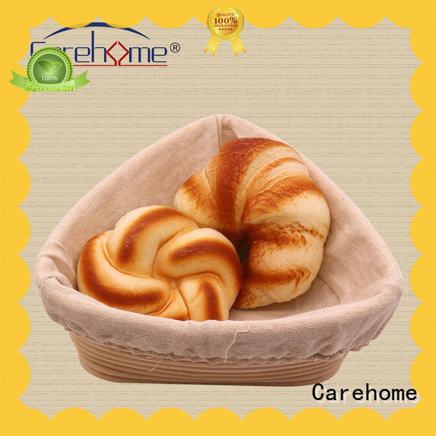 Carehome wooden bread basket with high quality for family