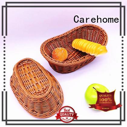 Carehome bamboo restaurant basket supplier for market