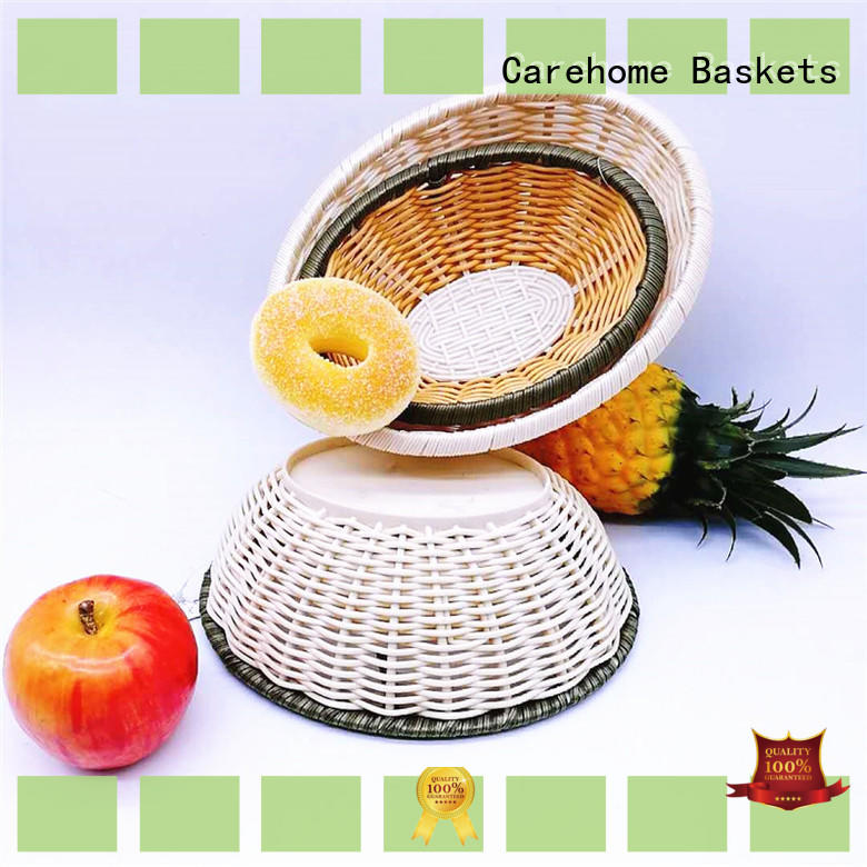 Carehome multifunctional Bamboo Basket food for supermarket