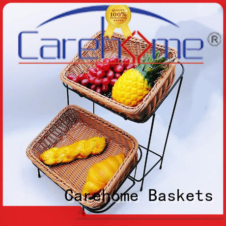 handicraft rattan bread basket tl1035 with high quality for shop