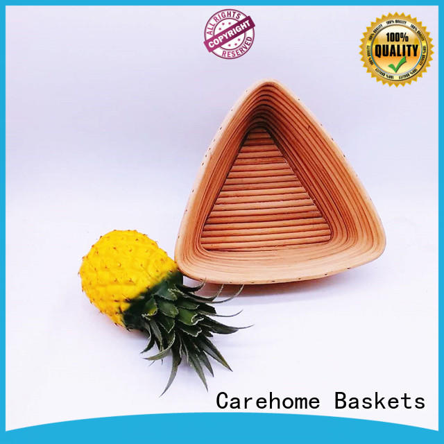 Carehome handmade fruit snack baskets with handle for market
