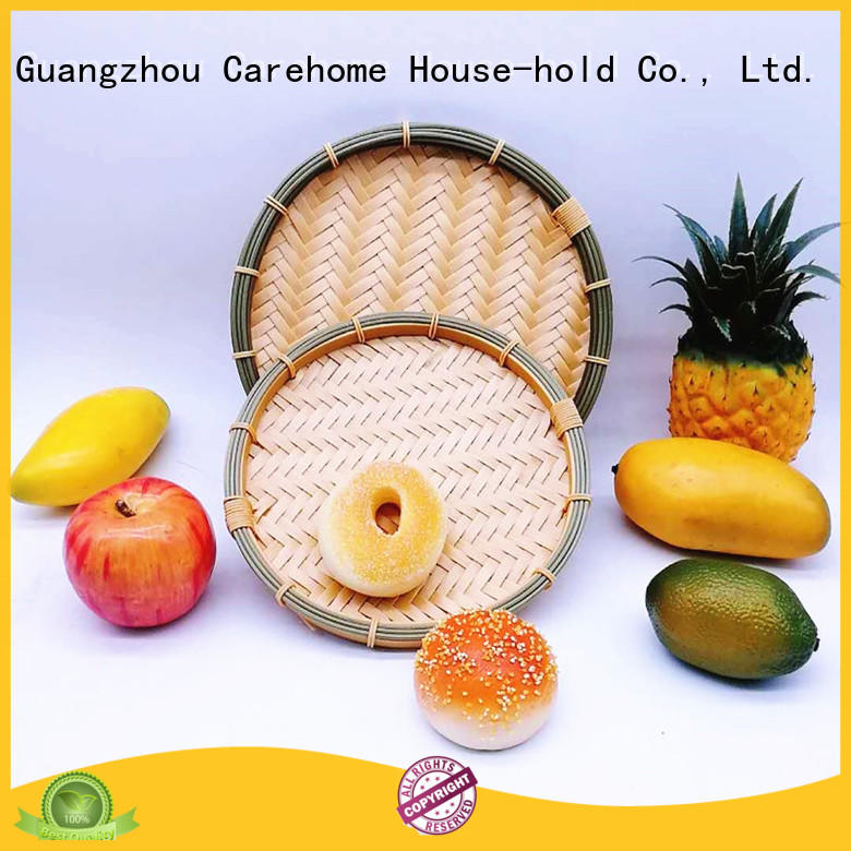 round Bamboo Basket on sale for shop Carehome