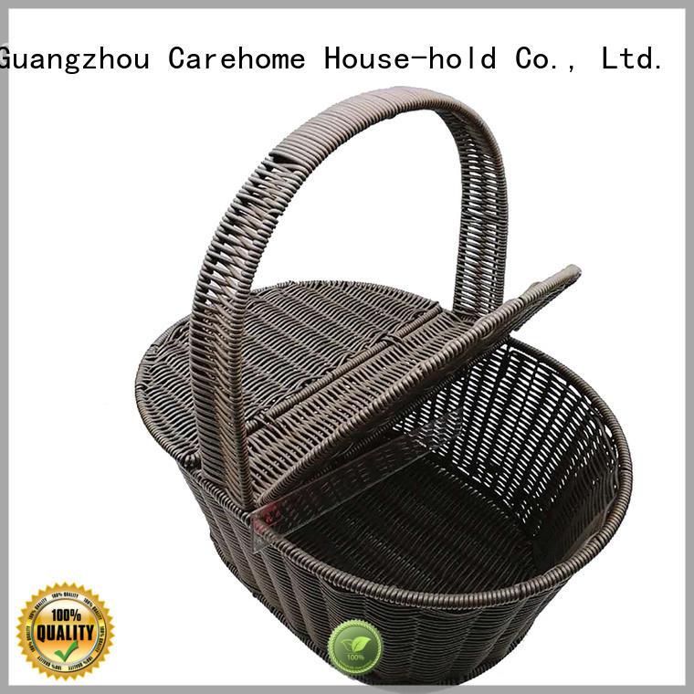 handicraft bamboo bread basket square manufacturer for market