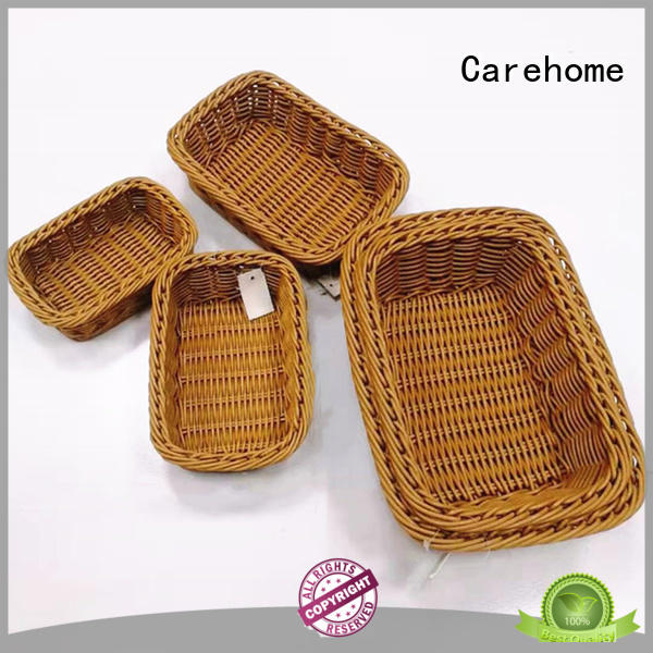 Carehome poly bakery display baskets manufacturer for family