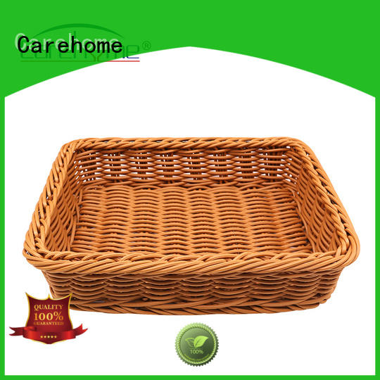 Carehome food safety wicker basket supplier for shop