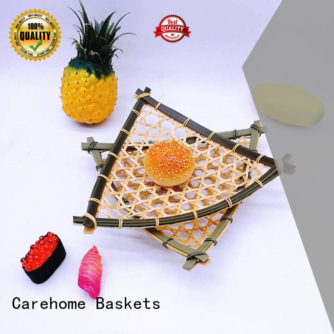 round Bamboo Basket bamboo for family