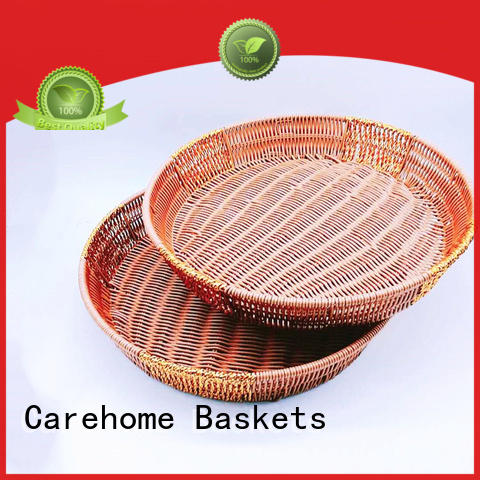 Carehome moistureproof wicker basket wholesale for market
