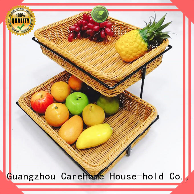 Carehome high quality fruit basket supplier for shop