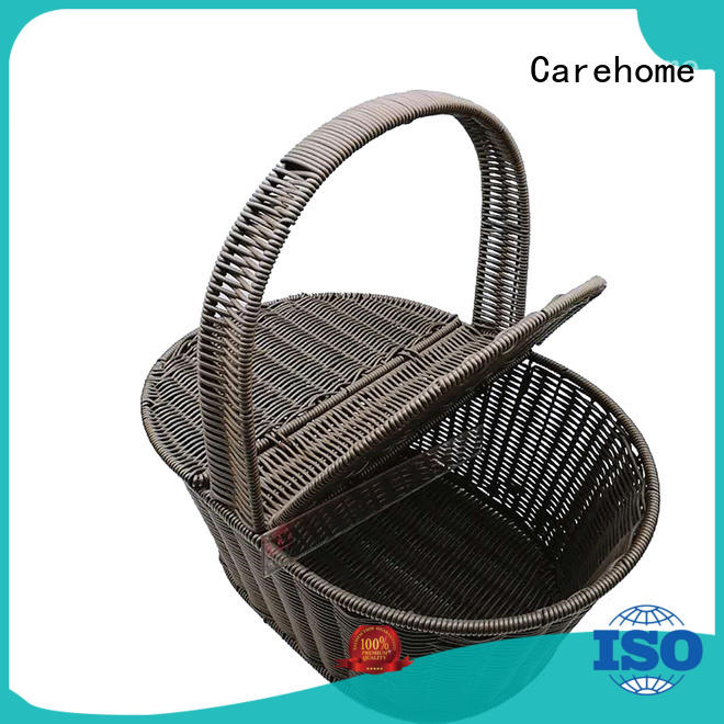 Carehome supermarket wicker bread basket with high quality for market