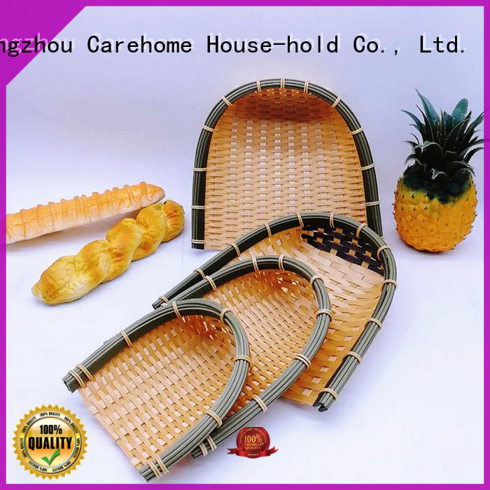 Carehome products Bamboo Basket ecofriendly for supermarket