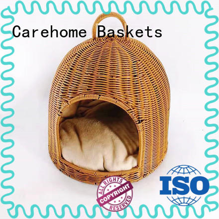 Carehome mothproof pet basket with certificates for family