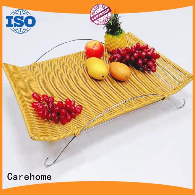 Carehome handcraft plastic bread basket manufacturer for supermarket