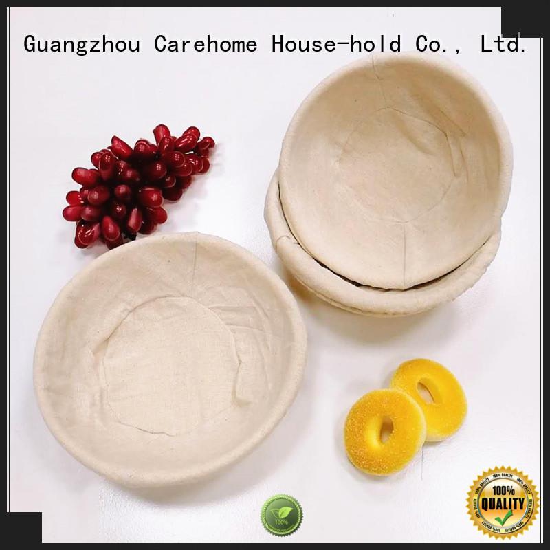 Carehome handcraft rattan bread basket manufacturer for supermarket