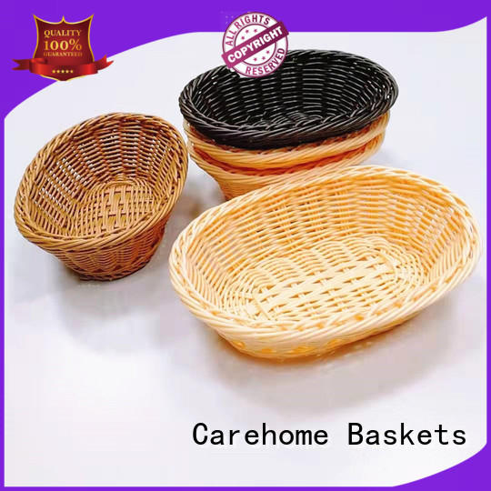 Carehome durable plastic bread basket with high quality for market