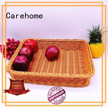 Carehome moth proof wicker basket for fruit for supermarket