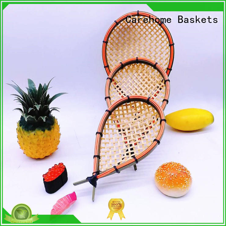 washable craft wicker baskets supplier for shop