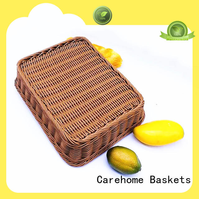non-toxic wicker basket shopping trolley supplier for shop