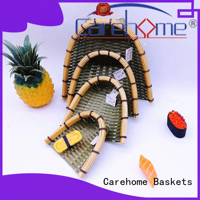 which Bamboo Basket easy to clean for supermarket Carehome