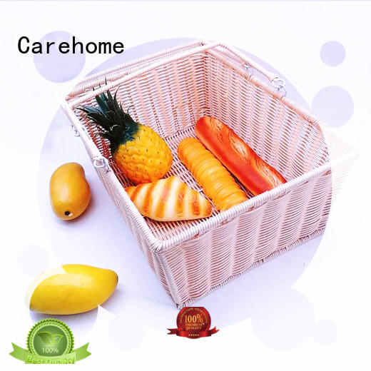 Carehome wood craft gift basket wholesale for shop