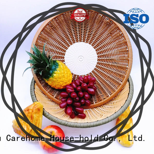 hollow Bamboo Basket round for sale