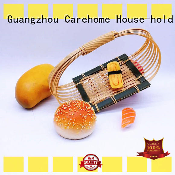 Carehome pp Bamboo Basket with high quality for sale