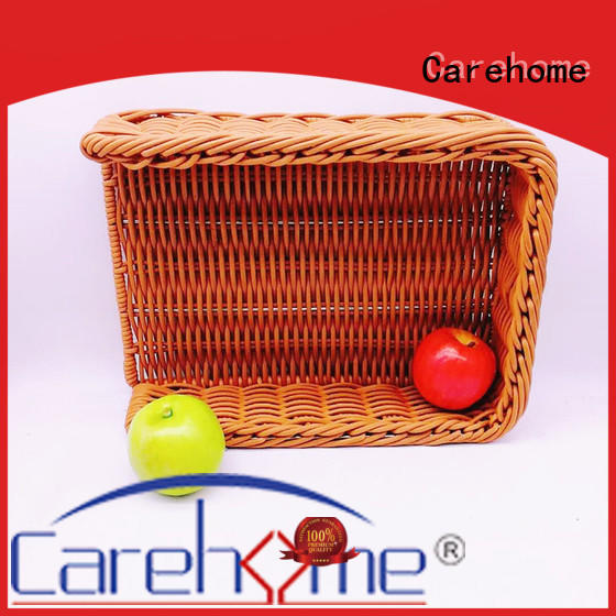 non-toxic shopping wicker basket customers wholesale for supermarket