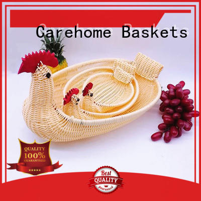 Carehome durable wicker gift baskets supplier for family