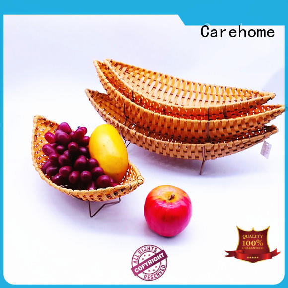 Carehome durable wicker cube baskets supplier for family
