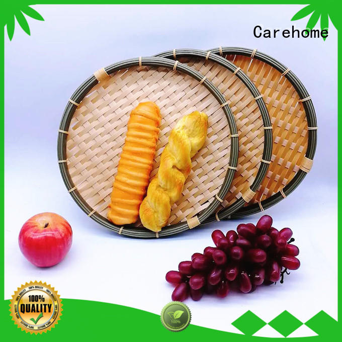Carehome hollow Bamboo Basket for market
