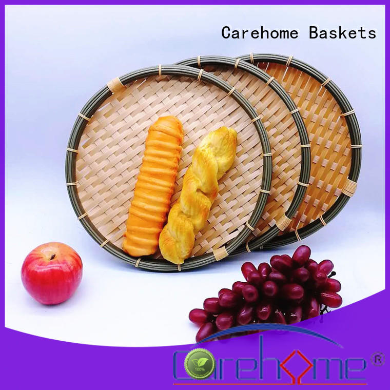 Carehome sushi large wicker baskets for supermarket