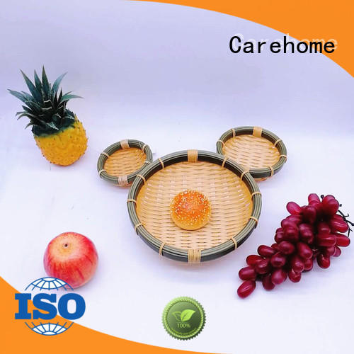 suitable large wicker baskets rattan for family Carehome