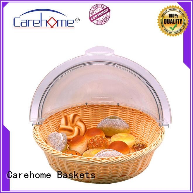 Carehome sushi rattan bread basket wholesale for supermarket