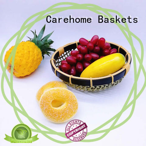 Carehome bowl Bamboo Basket ecofriendly for sale