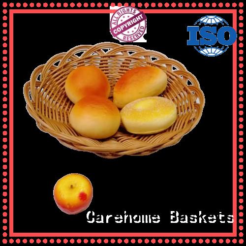 Carehome ecofriendly wicker baskets kitchen manufacturer for market