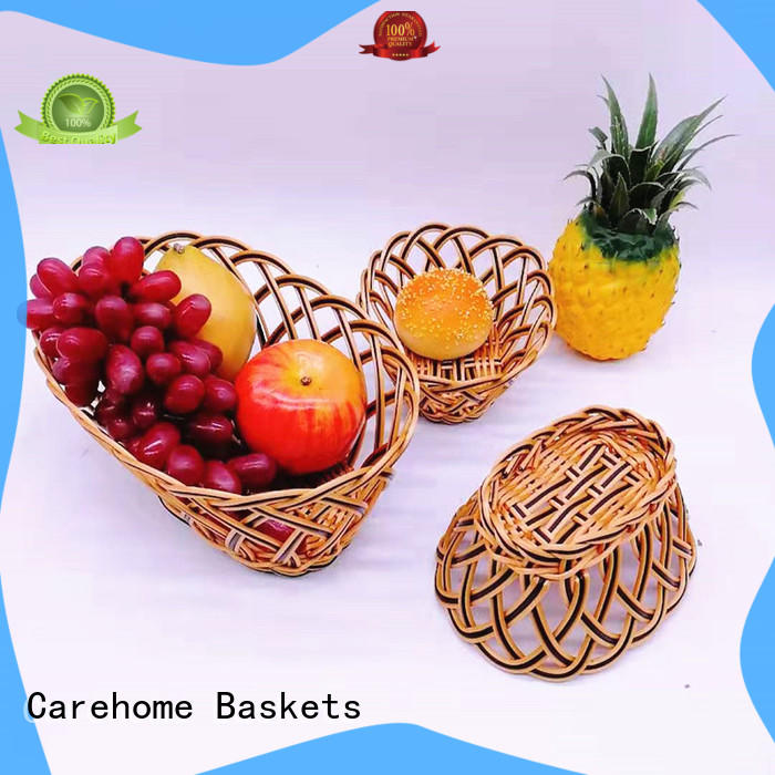 durable wicker gift baskets animal manufacturer for supermarket