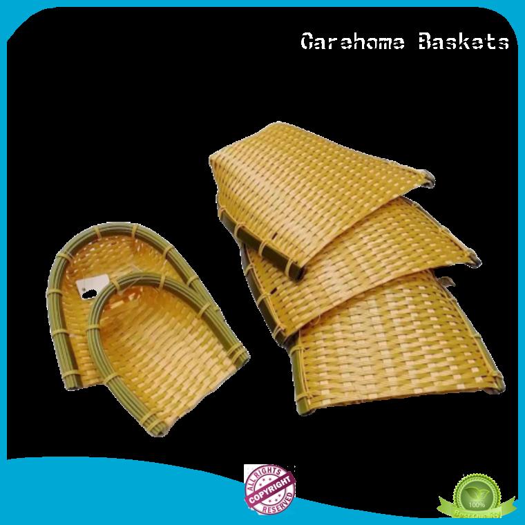 washable bamboo basket menu bottom ecofriendly for family