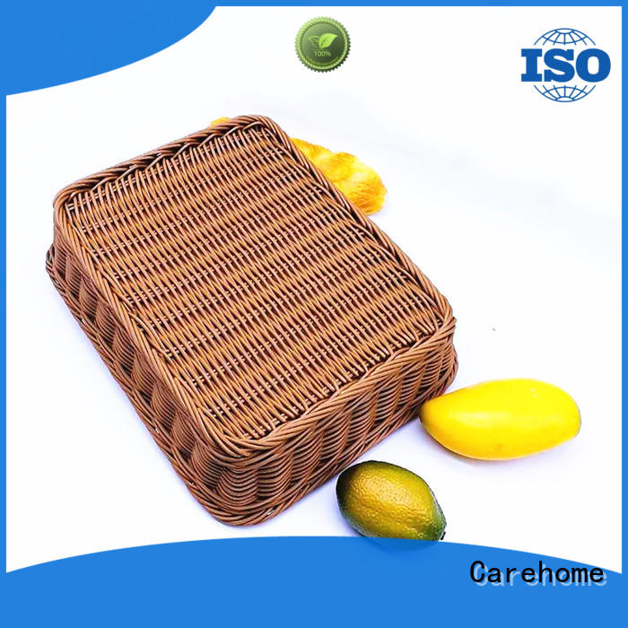 high quality shopping wicker basket food manufacturer for family