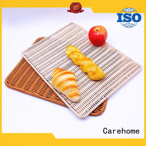 Carehome handmade bakery display baskets manufacturer for family