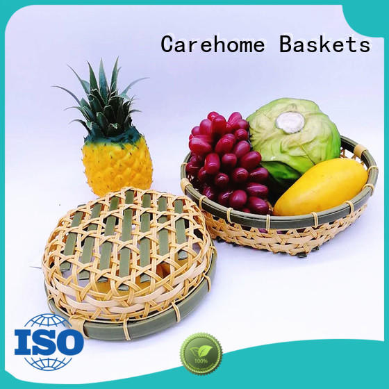 colorful large wicker baskets ecofriendly for sale Carehome