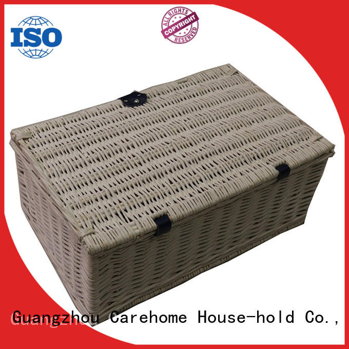 Carehome durable small hamper baskets with high quality for market