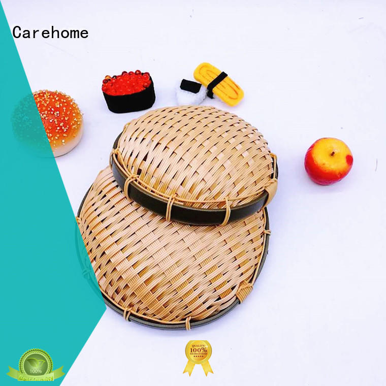 Carehome suitable Bamboo Basket with high quality for family